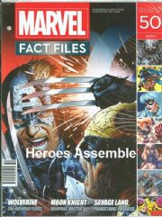 Marvel Fact Files #50 Eaglemoss Publications